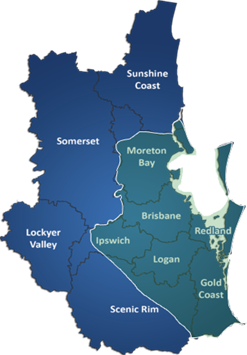 Brisbane, Ipswich, Gold Coast Phone Technician Coverage Area